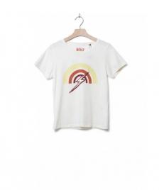 Lightning Bolt Lightning Bolt W T-Shirt Rainbow beige egret