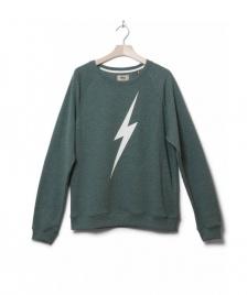 Lightning Bolt Lightning Bolt Sweater Forever Crew green sycamore