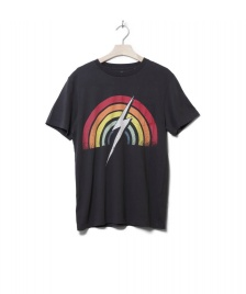 Lightning Bolt Lightning Bolt T-Shirt Rainbow Pocket black vintage