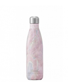 Swell Swell Water Bottle MD pink elements geode rose