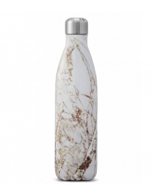 Swell Swell Water Bottle LG white elements calacatta gold