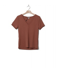 MbyM MbyM W T-Shirt Queenie brown golden oak