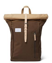 Sandqvist Sandqvist Backpack Dante multi olive/beige