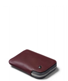 Bellroy Bellroy Wallet Card Pocket red wine