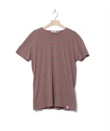 Revolution (RVLT) Revolution T-Shirt 1005 red grey-melange