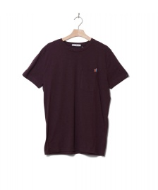 Revolution (RVLT) Revolution T-Shirt 1137 Cra red bordeaux