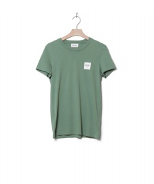 Wood Wood Wood Wood W T-Shirt Eden green dusty