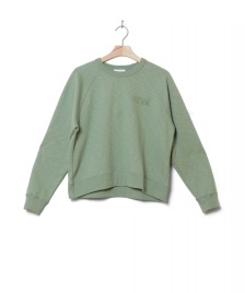 Wood Wood Wood Wood W Sweater Jerri green dusty
