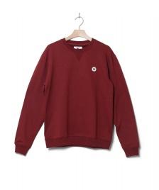 Wood Wood Wood Wood Sweater Tye red dark