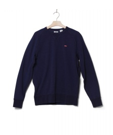 Levis Levis Sweater Original Hm Icon Crew blue indigo