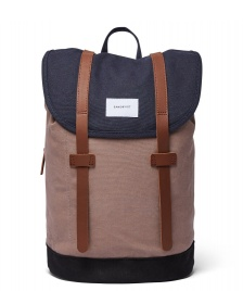 Sandqvist Sandqvist Backpack Stig multi navy/earth brown/black