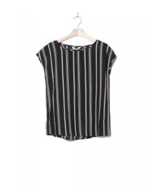 Wemoto Wemoto W T-Shirt Melvin Printed black-off white