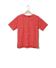 Wemoto Wemoto W T-Shirt Holden Printed red-off white