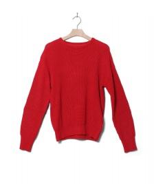 Wemoto Wemoto W Knit Pullover Missy red