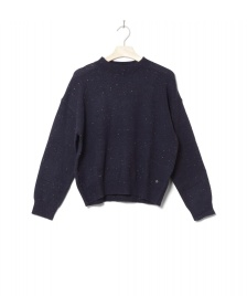 Wemoto Wemoto W Knit Pullover Frankie blue navy nep