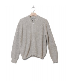Wemoto Wemoto W Zip Sweater Draper grey melange