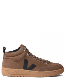 Veja Veja Shoes Roraima Suede brown black natural sale