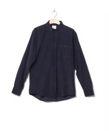 Klitmoller Collective Klitmoller Shirt Benjamin Cord blue navy