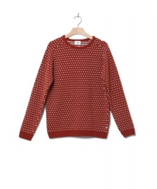 Klitmoller Collective Klitmoller Knit Hugo orange rust cream