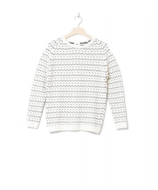 Klitmoller Collective Klitmoller W Knit Jasmin white cream/navy