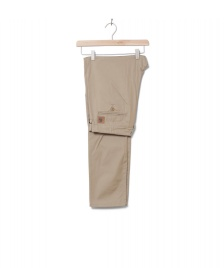 Carhartt WIP Carhartt WIP Pants Club Benson beige leather rigid