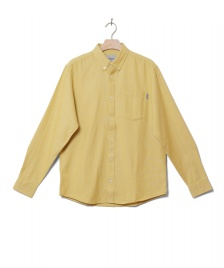 Carhartt WIP Carhartt WIP Shirt Dalton yellow flour heavy rinsed