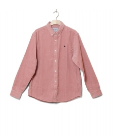 Carhartt WIP Carhartt WIP Shirt Madison Cord pink blush/duck blue