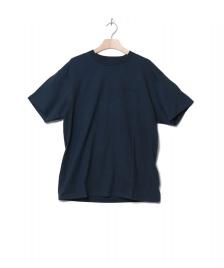 Carhartt WIP Carhartt WIP T-Shirt Embroidery blue duck