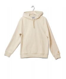 Carhartt WIP Carhartt WIP Hooded Sweater Chase beige flour/gold