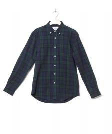 Portuguese Flannel Portuguese Flannel Shirt Bonfim multi blue/green
