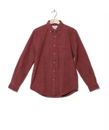 Portuguese Flannel Portuguese Flannel Shirt Lobo red bordeaux
