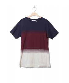 Revolution (RVLT) Revolution T-Shirt 1145 Striped blue navy