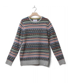 Revolution (RVLT) Revolution Knit Pullover 6510 grey multi