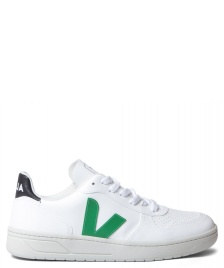 Veja Veja W Shoes V-10 Vegan (C.W.L.) white emeraude black