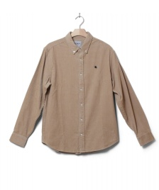 Carhartt WIP Carhartt WIP Shirt Madison beige wall/black