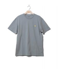 Carhartt WIP Carhartt WIP T-Shirt Chase blue cloudy/gold