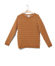 Klitmoller Collective Klitmoller W Knit Jasmin brown amber/cream
