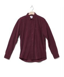 Klitmoller Klitmoller Shirt Benjamin Cord red bordeaux