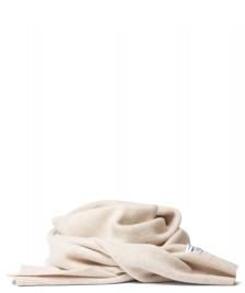 Colorful Standard Colorful Standard Scarf Merino Wool beige white ivory