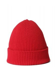 Colorful Standard Colorful Standard Beanie Merino Wool red scarlet