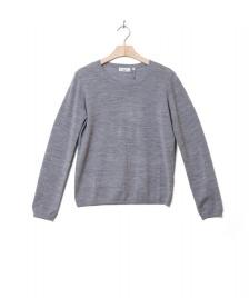 Minimum Minimum W Pullover Italina grey melange