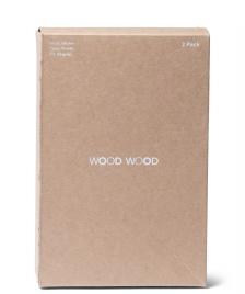 Wood Wood Wood Wood Trunks Vester 2-Pack white bright