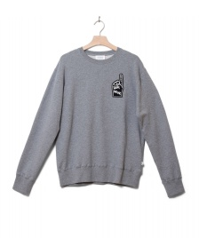 Wood Wood Wood Wood Sweater Hugh grey melang