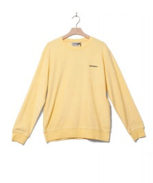 Carhartt WIP Carhartt WIP Sweater Terry yellow fresco/black