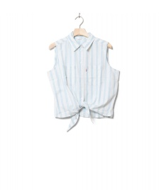 Levis Levis W Shirt Alina Tie blue amber stripe chambray