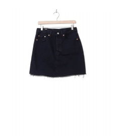 Levis Levis W Skirt High-Rise Deconstructed black left behind