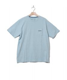 Patagonia Patagonia T-Shirt Line Logo Ridge blue big sky