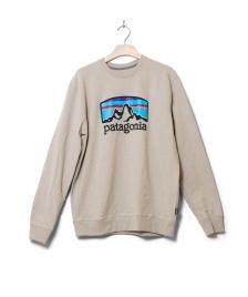 Patagonia Patagonia Sweater Fitz Roy Horizons Uprisal grey pumice