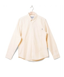 Carhartt WIP Carhartt WIP Shirt L/S Button Down Pocket beige fresco