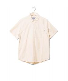 Carhartt WIP Carhartt WIP Shirt S/S Button Down Pocket beige fresco